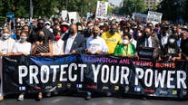 'March On For Voting Rights' takes place on anniversary of MLK's 'I Have A Dream' speech