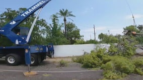 Thousands of SRP customers lose power after Monday's monsoon storm