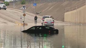 Thunderstorms cause flooding, damage across Phoenix area; flash flood watch issued