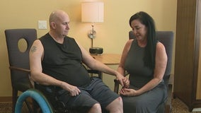 Ahwatukee man seriously injured in wrong-way DUI crash heads home nearly 7 months later