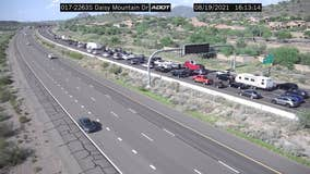 I-17 North reopens north of Phoenix following deadly rollover crash
