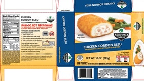 Serenade Foods recalling nearly 60,000 pounds of chicken products over possible salmonella contamination