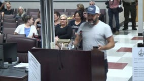 Father's speech against anti-mask parents at Tennessee board meeting goes viral