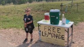 Sturgis bikers flock to boy's lemonade stand