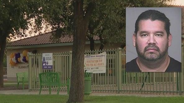 School custodian arrested, accused of luring minors