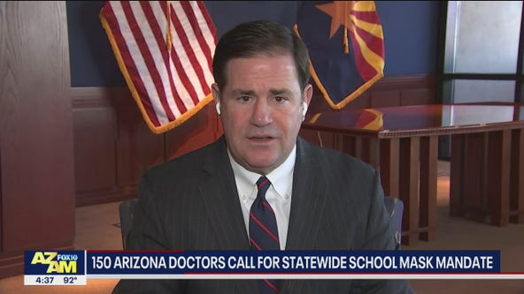 Arizona doctors call for statewide school mask mandate
