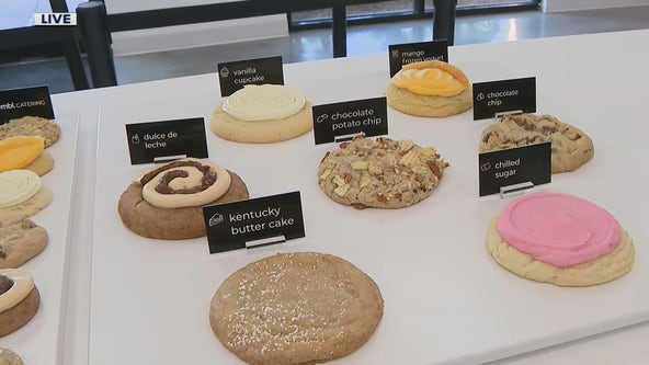 Sweet treats at Crumbl Cookies