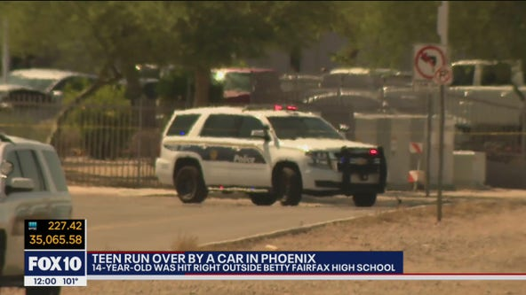 Teen seriously injured after being hit by car in Laveen outside school