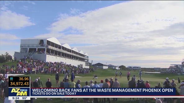 Tickets on sale for 2022 Waste Management Phoenix Open