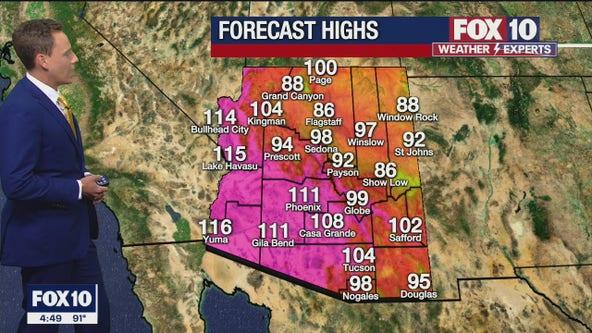 Morning Weather Forecast - 8/3/21