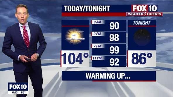 Morning Weather Forecast - 8/1/21