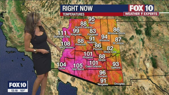 Noon Weather Forecast - 8/5/21