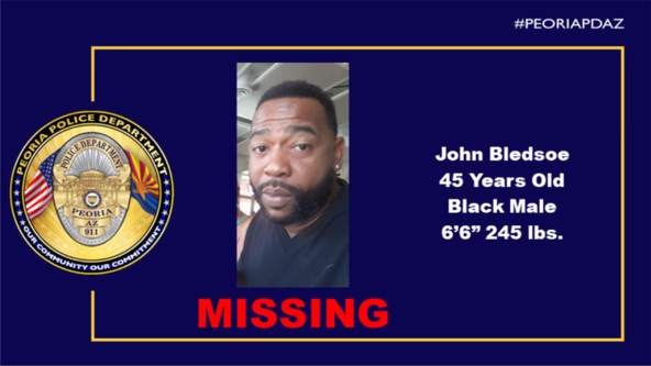 Police search for missing man last seen in Peoria
