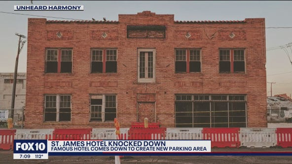 Historical hotel torn down in Downtown Phoenix despite efforts to save it