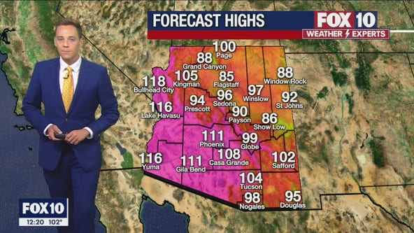 Noon Weather Forecast - 8/3/21