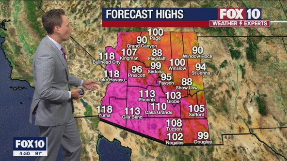 Morning Weather Forecast - 8/4/21