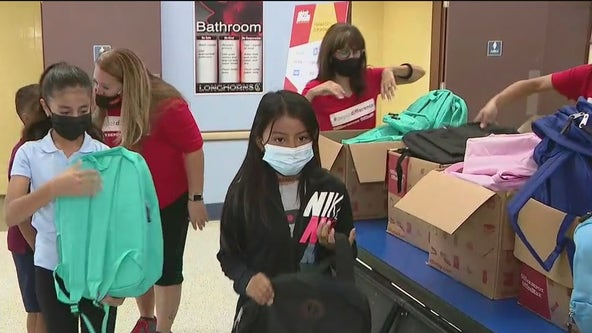 Office Depot donates school supplies at one Valley school to help kids kick off the school year