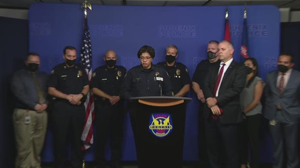 Phoenix officials discuss federal investigation into police department