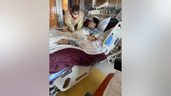 Hesitant family changes mind on COVID-19 vaccine after almost losing their son to the virus