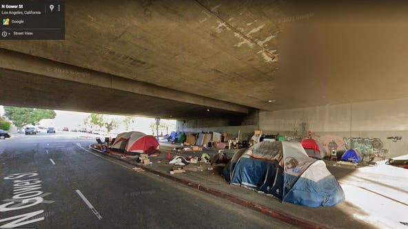 Woman struck by car because encampment allegedly blocked sidewalk sues Los Angeles, county, state