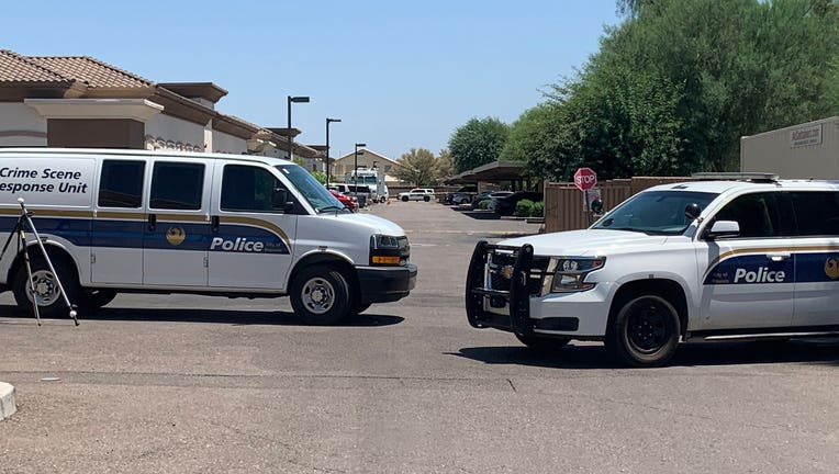 Phoenix police are investigating after a man was shot dead in a parking lot near 95th Avenue and Camelback.