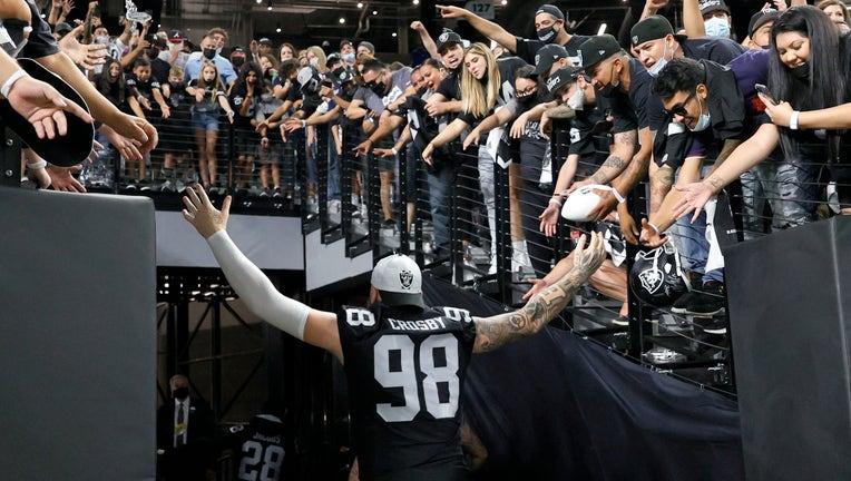 Seattle Seahawks v Las Vegas Raiders