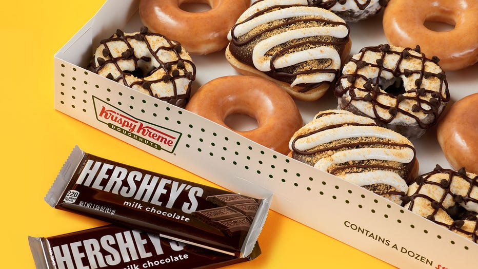 Hershey's and Krispy Kreme S'mores Dozen