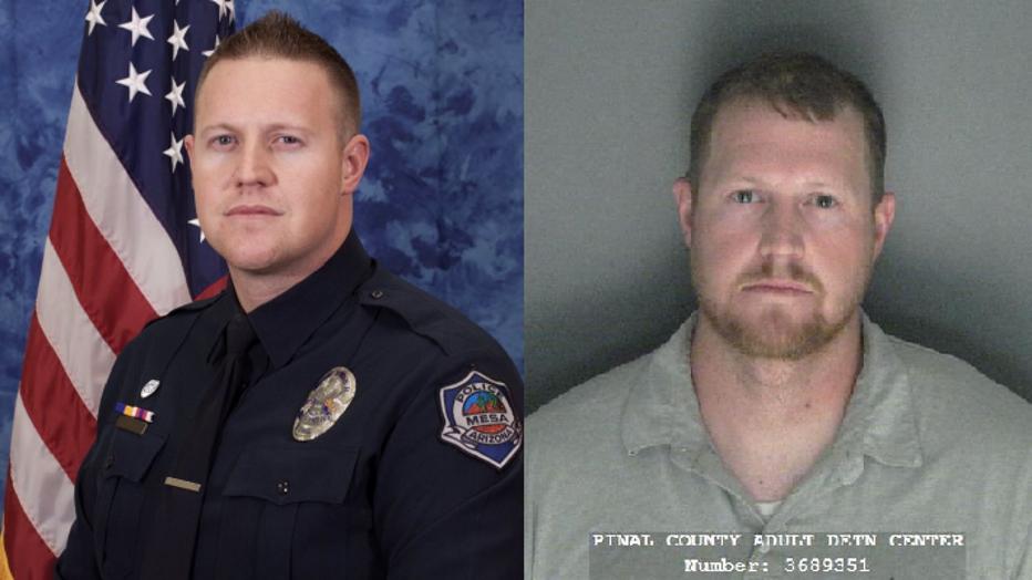 Former Mesa Police Officer Spencer Allen is suspected of animal cruelty