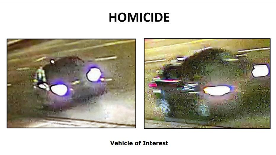 mcclain homicide suspect vehicle