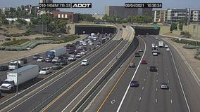 Two critically injured after I-10 crash in Phoenix