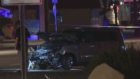 PD: Woman dead following 2-car crash in west Phoenix