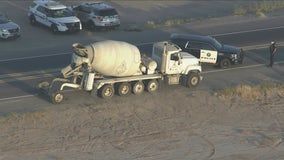 State Route 587 reopens following fatal collision involving cement truck