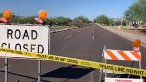 Motorcyclist killed in 2-vehicle crash in south Phoenix