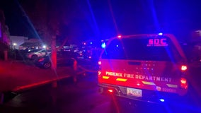 FD: 3 people jump from second-story window to escape fire burning in Ahwatukee apartment