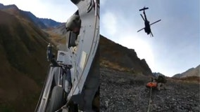 Video: Alaska National Guard rescues hunter mauled by grizzly bear