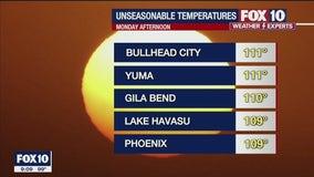 Excessive Heat Warning expires for 6 Arizona counties