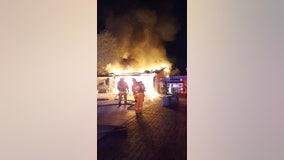 Neighbors save elderly man from west Phoenix house fire