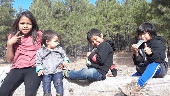 Amber Alert issued for four missing children out of Navajo Nation