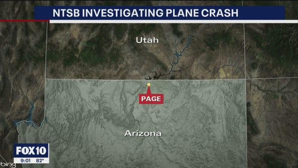 NTSB investigating plane crash in Page