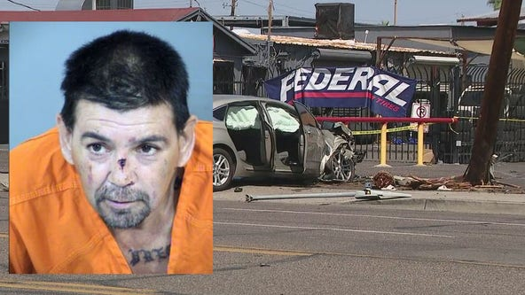 Child dead, 4 hospitalized after car crashes into pedestrians in Phoenix