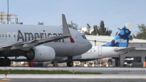 US sues to stop partnership between American Airlines, Jetblue