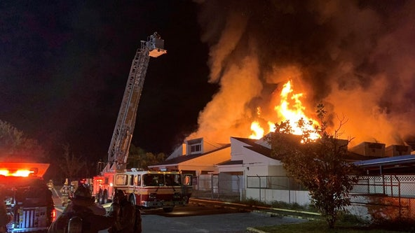 Over 20 cats killed in fire at Pet Alliance of Greater Orlando