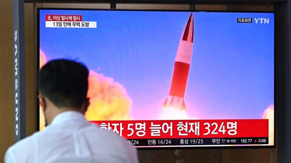North Korea launches another missile as diplomat decries US policy
