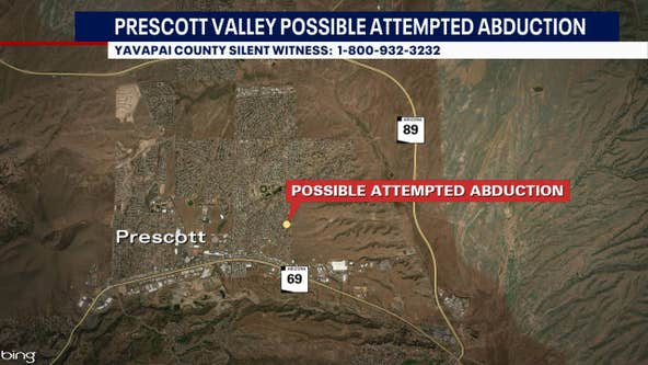 Police investigating possible attempted abduction of 2 children in Prescott Valley