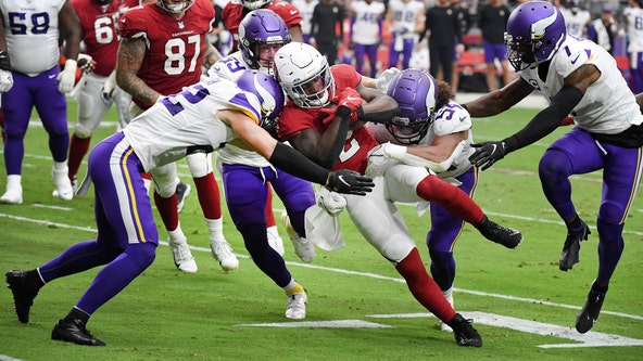 Cards win 34-33 thriller after Vikings miss last-second field goal