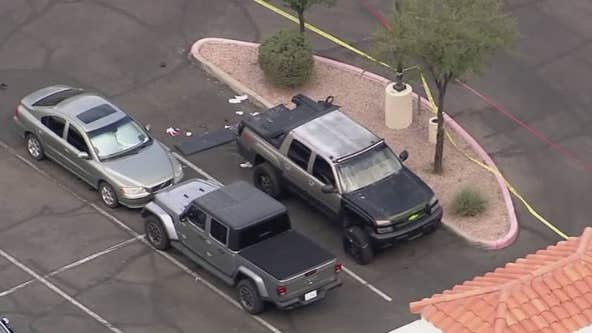 Police shoot domestic violence suspect at Chandler hotel