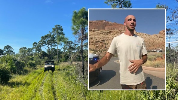 Brian Laundrie search in Sarasota County park concludes for evening following FBI raid at Florida home