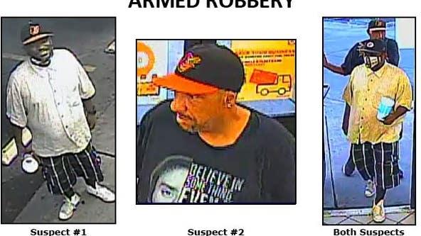 Phoenix Police seek suspects in multiple armed robbery cases