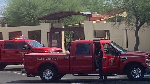 Reported hazmat situation at Phoenix Country Day School in Paradise Valley