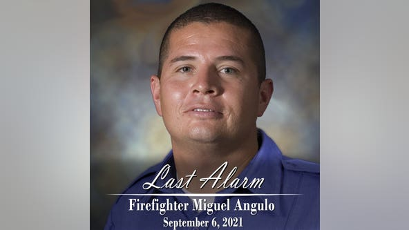 Memorial service held for Phoenix firefighter who died from COVID-19
